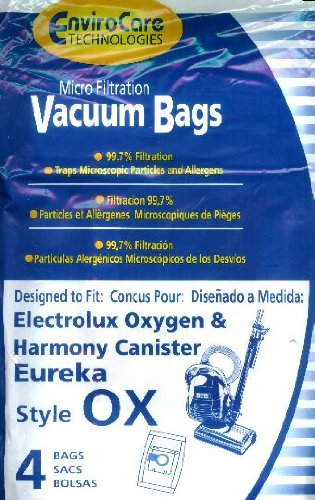 Lux S Harmony & Oxygen Bag Generic Allergen 4 Pack For Canisters front-104797