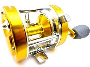 New 2 S.s BB Round Baitcasting Fishing Reel High Quality 50 Series Gear Ratio: 5.2:1.