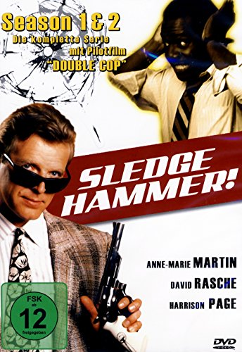 Sledge Hammer - Season 1+2 Box [4 DVDs]