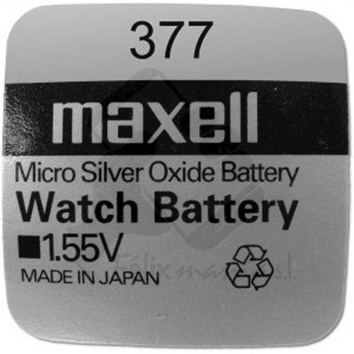 10 X BATTERIE ORIGINALE Pile Maxell SR626SW 1,55 V Pile 377 Oxyde D'argent Maxell AG 4 Boutons-Livraison 48/72H Felixmania®