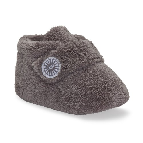 UGG Kids Baby Girl's Bixbee (Infant/Toddler) Charcoal Slipper MD (US 4-5 Toddler) M