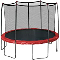 Skywalker Trampolines 12' Round Trampoline and Safety Enclosure (Red)