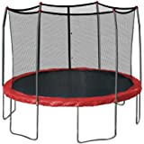 Skywalker Trampolines 12-Feet Round Trampoline and Enclosure with Spring Pad