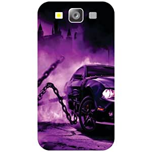 Printland Purple Car Phone Cover For Samsung I9300 Galaxy S3