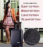 スーツケース用カバー トランク保護 スーツケース用カバー キャスター付旅行かばん用保護 レインカバー(防水)タイプ (XL)