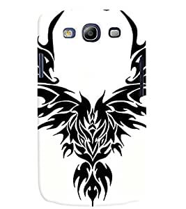 Samsung Galaxy S3 MULTICOLOR PRINTED BACK COVER FROM GADGET LOOKS