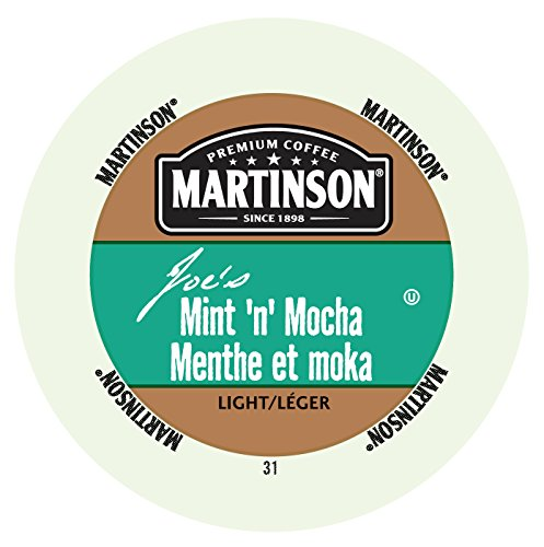 Martinson Joe's Coffee, Mint N Mocha, 24 Single Serve RealCups (Martinson Coffee Can compare prices)