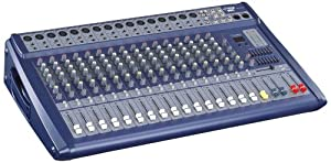 Pyle-Pro PMX1608 16 Channel 1200 Watts Ultra Low Noise Stereo digital Effect  Mixer With DSP