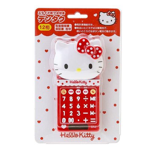 [Hello Kitty]Diecut mini calculator