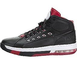 Nike Jordan Men\'s Jordan Ol\'School Black/White/Gym Red Basketball Shoe 9 Men US