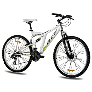 damenfahrrad 26 zoll 26 kcp mountainbike fahrrad rad rooster 21 gang weiss 66 0 26 zoll review. Black Bedroom Furniture Sets. Home Design Ideas