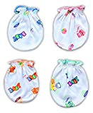 Baby Station Baby Printed Mittens Set of 4