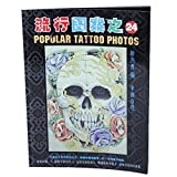 Imported A4 Size 52 Pages Skulls Skeleton Design Tattoo Reference Book Sketch Picture Instruction Sheet