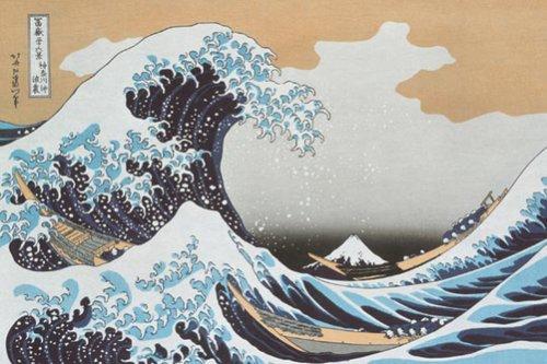 1000ピース 銀彩 神奈川沖浪裏 1000-74