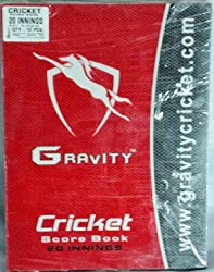 Gravity Gravity Cricket Score Book