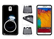 buy Glowing Diamond Ring In The Dark Tpu Rubber Silicone Phone Case Back Cover For Samsung Galaxy Note Iii 3 N9002 Comes With Security Tag And Myphone Designs(Tm) Cleaning Cloth