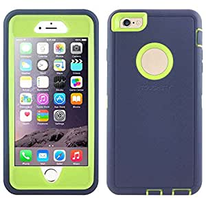 Toughsty™ Hybrid Shockproof Hard Rugged Heavy Duty Silicone Case Cover for Apple iPhone 6 4.7