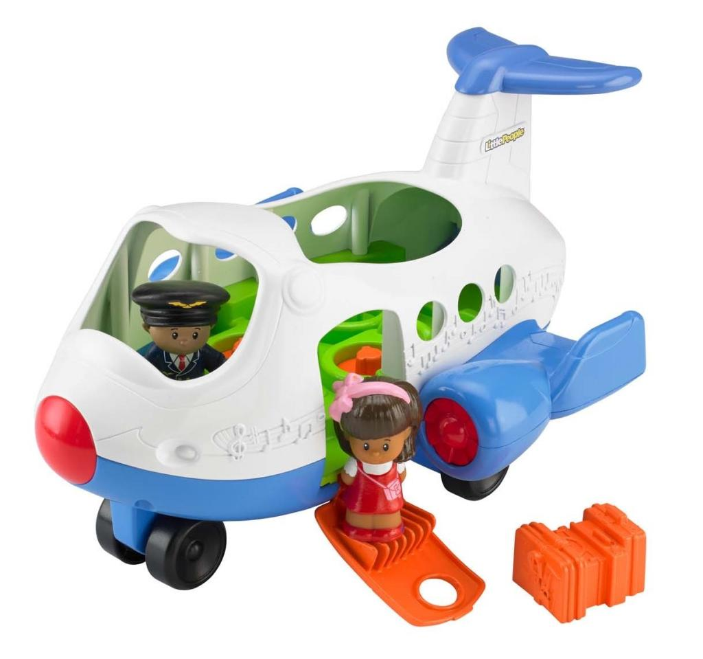 Fisher Price Little People Lil Movers Airplane on PopScreen