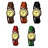 The Gledati 5 Analog Watches Combo for All_ADCOMB0002480