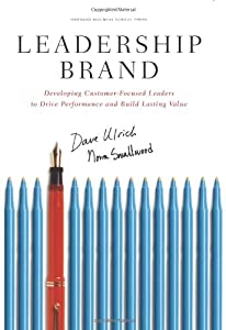 "Cover of ""Leadership Brand: Developing Cu..."