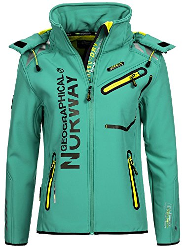 Geographical Norway Damen Softshelljacke Romantic lagoon