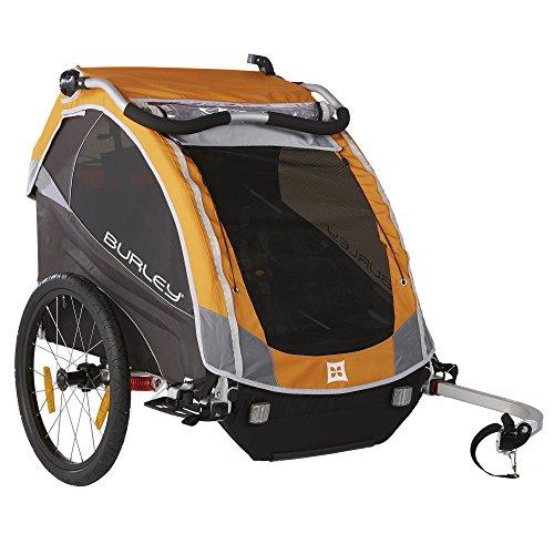 Burley Design D'Lite Child Bike Trailer, Orange (Tangled Trailer compare prices)