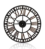 Bronze Effect Outdoor Clock
