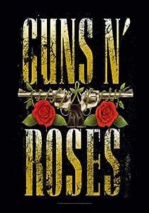 Guns N' Roses - Big Guns - Posterflagge 100% Polyester - 75x110 cm