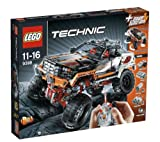 LEGO Lego Technic - 4 x 4 Crawler - 9398 9398 (Take on even the toughest terrain with this realistic 4x4 Crawler!Operate the 4-wheel steering and 4-wheel drive using the supplied LEGO Power Function infrared remote control... )