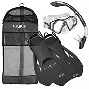Buy Aqua Lung Sport Admiral 2 LX, Island Dry LX & Trek Snorkeling Set by Aqua Lung Sport