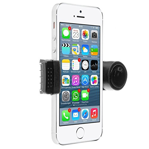 Venti Airmount Portable Car Air Vent Mount Holder for Smartphone - Black