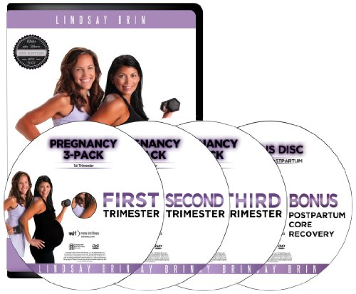 Pregnancy 3-Pack with Bonus Core Recovery, by Lindsay Brin