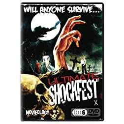 Ultimate Shockfest [6 DVD] (Horror Express / Alien Contamination / Night Of The Living Dead / Deep Red / Blind Dead III / Oasis Zombies / Messiah Evil / Satanic Rites Dracula / Dementia 13 ...) (2014)