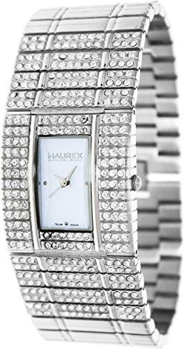 Haurex Women's XW368DW1 Honey White Stainless Steel Watch