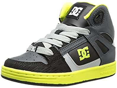 DC Shoes Rebound Se, Baskets mode garçon - Noir (Bky), 36 EU