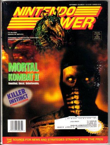Nintendo Power Magazine - Mortal Kombat II (Volume 64) (Mk Ii Snes compare prices)