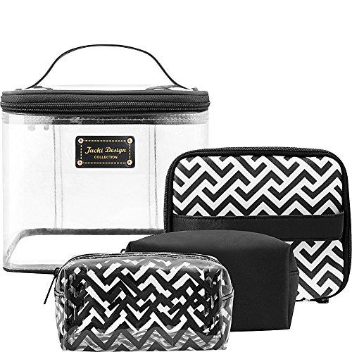 jacki-design-contour-4-piece-cosmetic-bag-set-black
