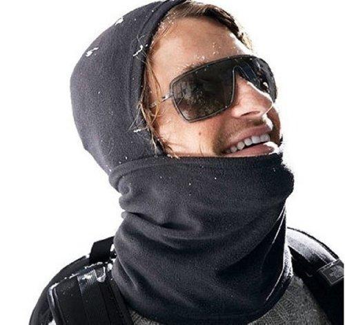 0761a0ae29a Black Fleece Thermal Full Face Mask Balaclava Outdoor Winter Sport Snowboard  Ski
