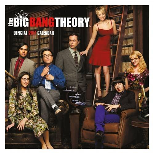 Big Bang Theory Official 2017 Square Calendar