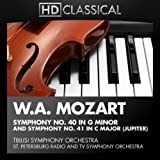 W.A. Mozart: Symphony No. 40 in G Minor and Symphony No. 41 in C Major (Jupiter)