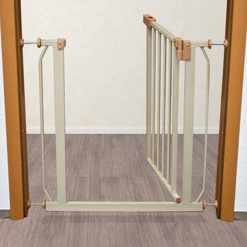 Consigue Tectake Barrera De Seguridad Para Puertas Y Escaleras Para