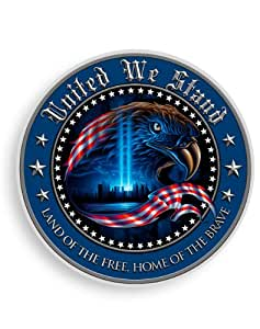 United We Stand - 6 Inch Commemorative Decal