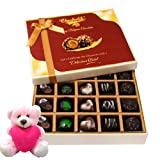 Love Celebration Of Chocolate Box With Teddy - Chocholik Belgium Chocolates