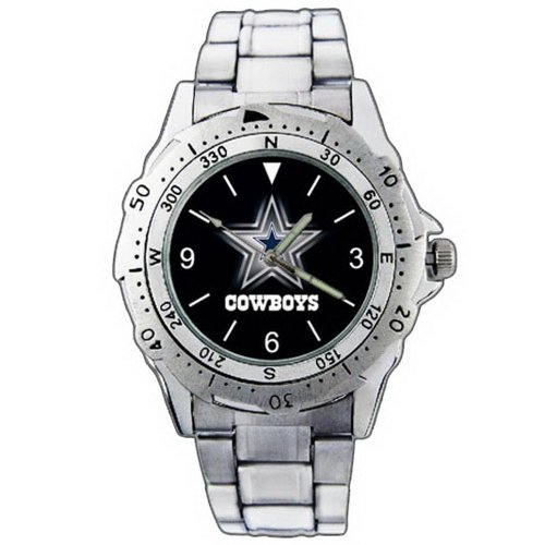 EPSP335 Dallas Cowboys Logo Stainless Steel Wrist Watch at Amazon.com