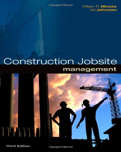 Construction Jobsite Management - Cengage Learning - 1439055734 - ISBN:1439055734