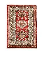 QURAMA Alfombra Kazak Super Rojo/Multicolor 77 x 58 cm
