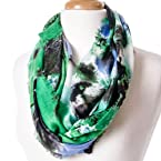 Rayon Abstract Infinity Scarf