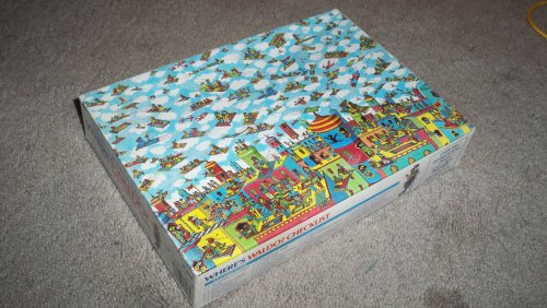 Cheap Great American Where's Waldo The Carpet Flyers Children's Jigsaw Puzzle (B0021A6DBM)
