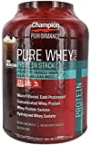 Champion Nutrition Pure Whey Plus Cocoa Mochaccino -- 4.8 lbs