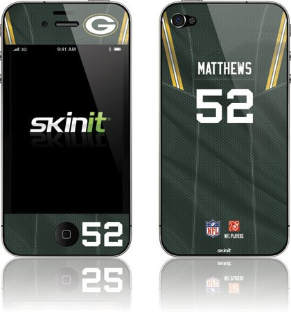 Skinit Clay Matthews -Green Bay Packers Vinyl Skin for Apple iPhone 5 by Skinit